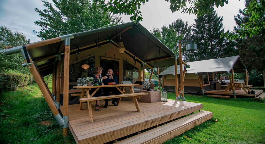 Safari tent Wood | Meet our glamping tents | Outstanding Tent