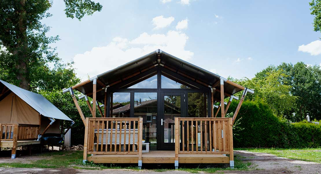 Insulated Glamping Tent Wood Outstanding