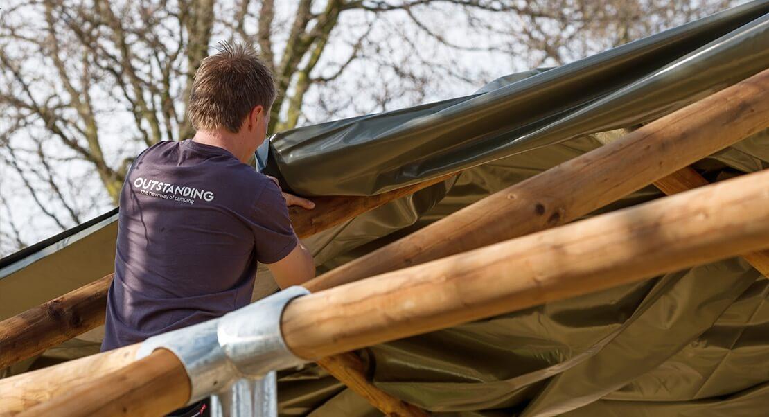 Large luxury tents