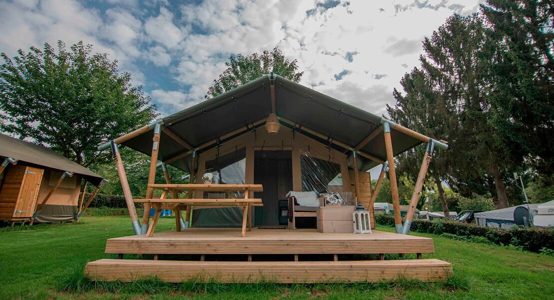 luxury glamping tent supplier