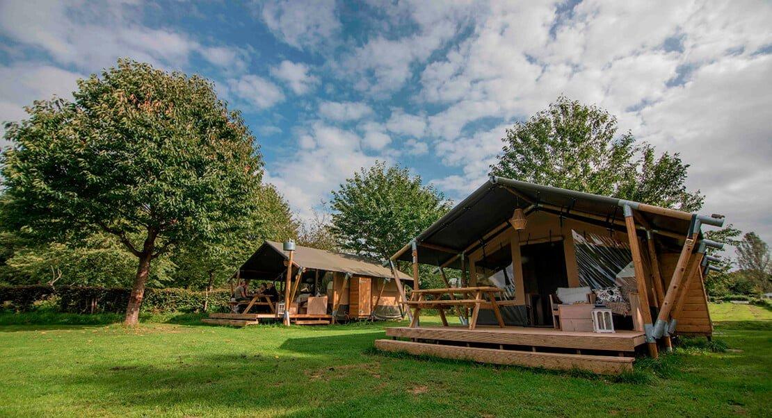 Safari style tents for sale