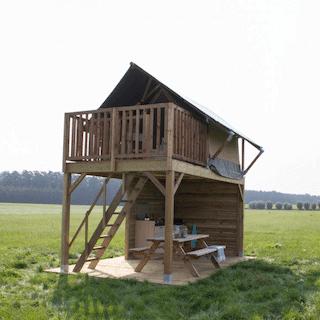 Small safari tent